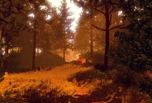Firewatch - the forest